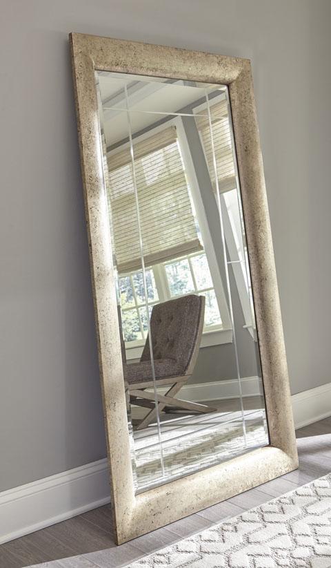 Full length mirror in the bedroom