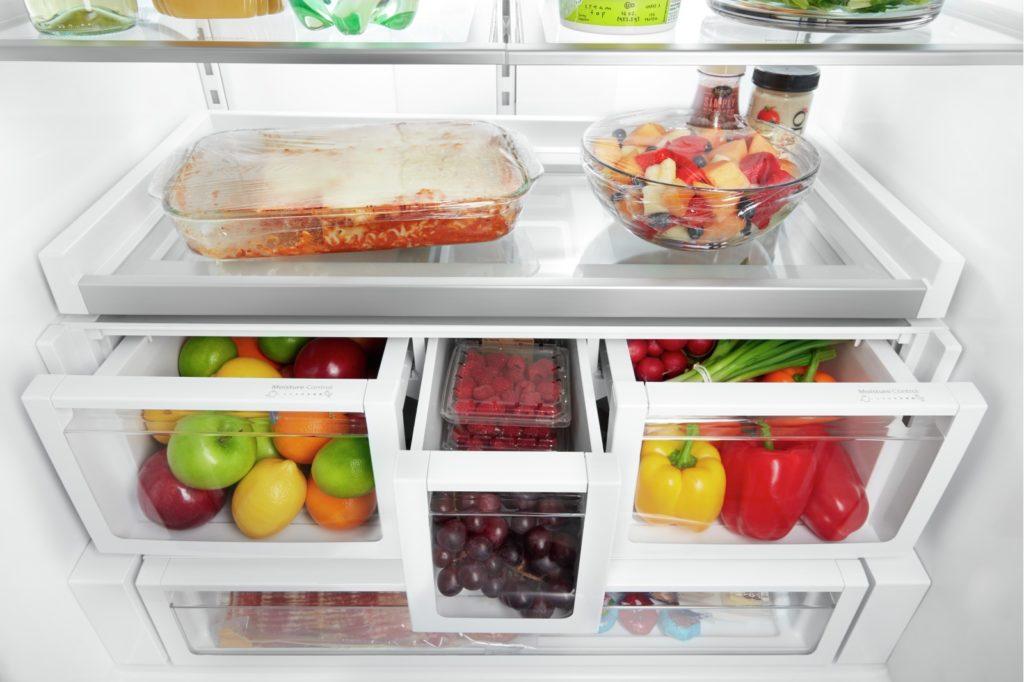 Quoi mettre dans les tiroirs à fruits et légumes