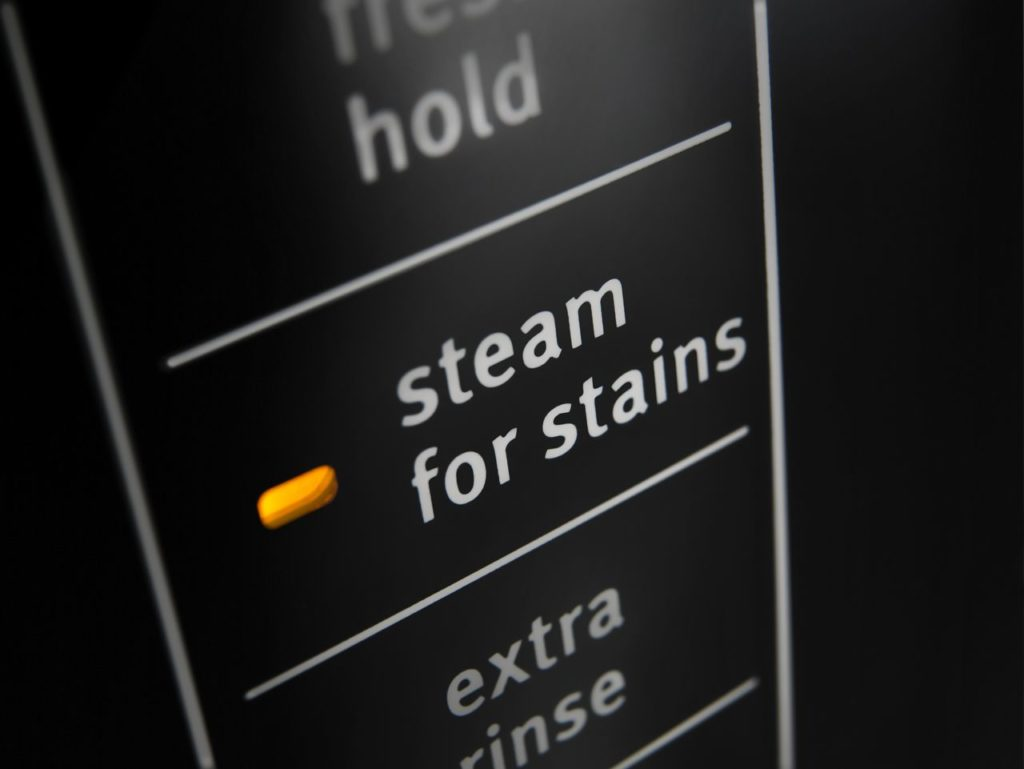 Steam for stain