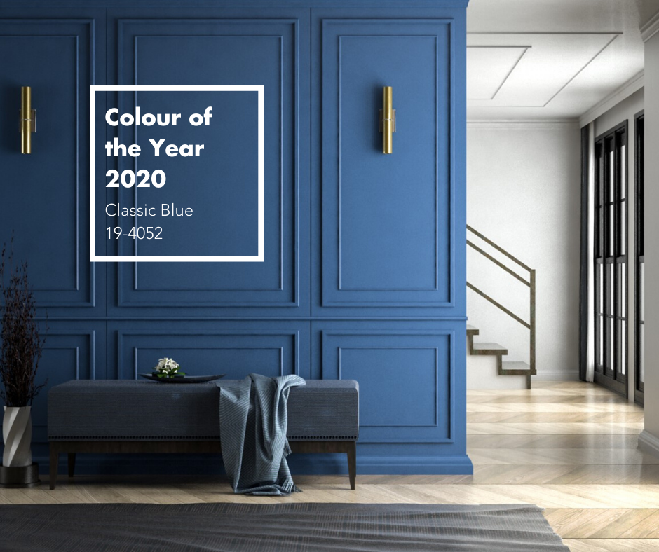 Pantone Colour of the Year 2020 Classic Blue