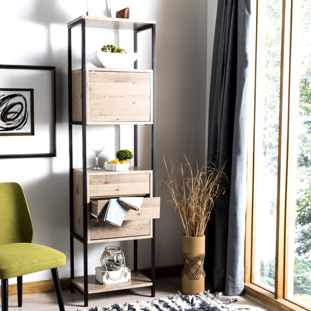 Vertical storage idea for small space living
