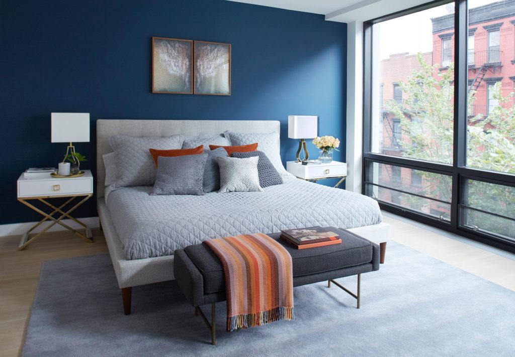 Les meilleures couleurs de peinture pour votre chambre à coucher