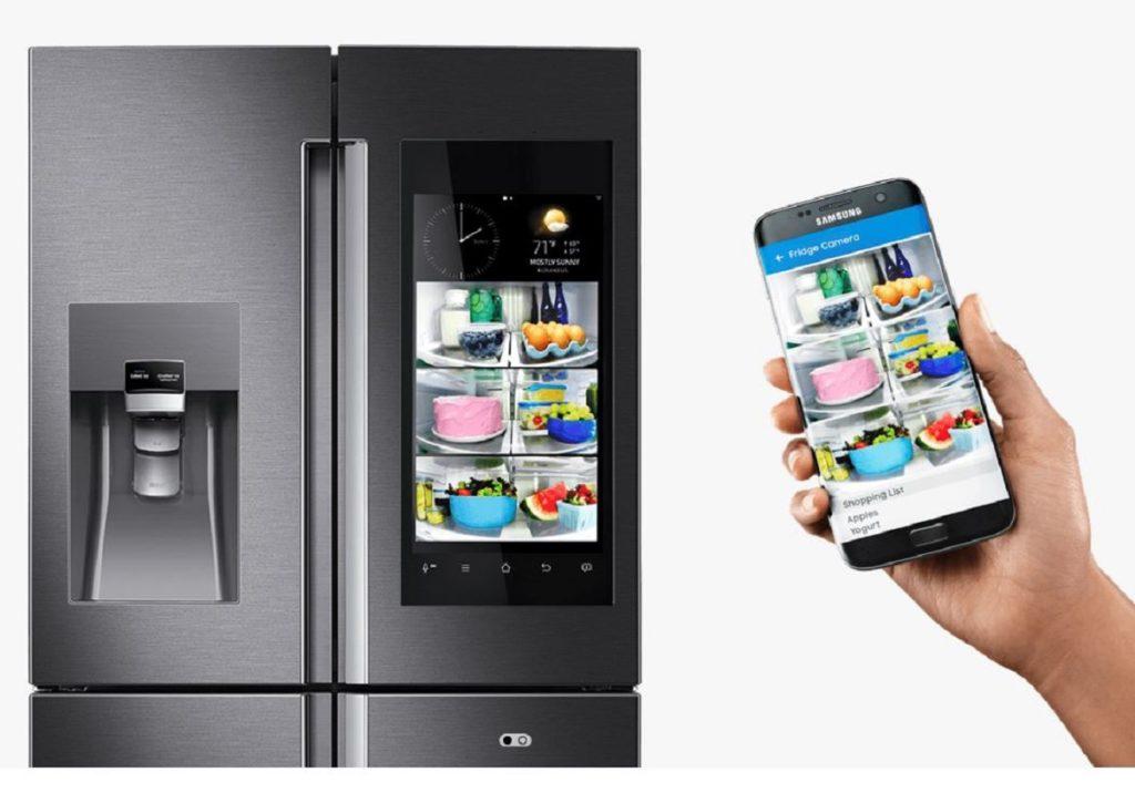 Réfrigérateur Family Hub avec caméra de Samsung