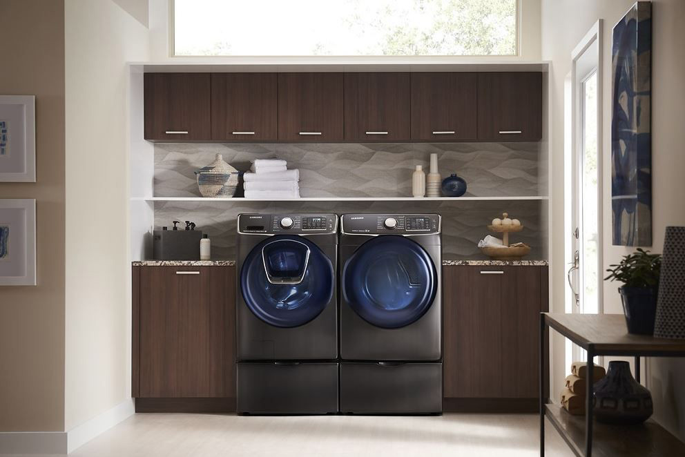 Samsung Washer and dryer with Smart Care Feature